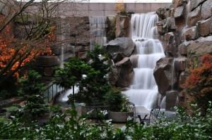 Искусственные водопады и каскады в Одессе
