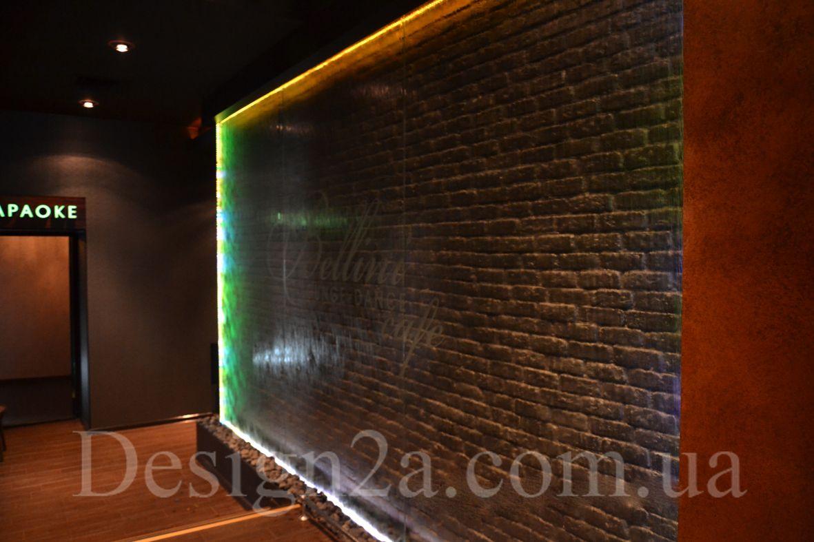 Водопад по стеклу цена в Одессе