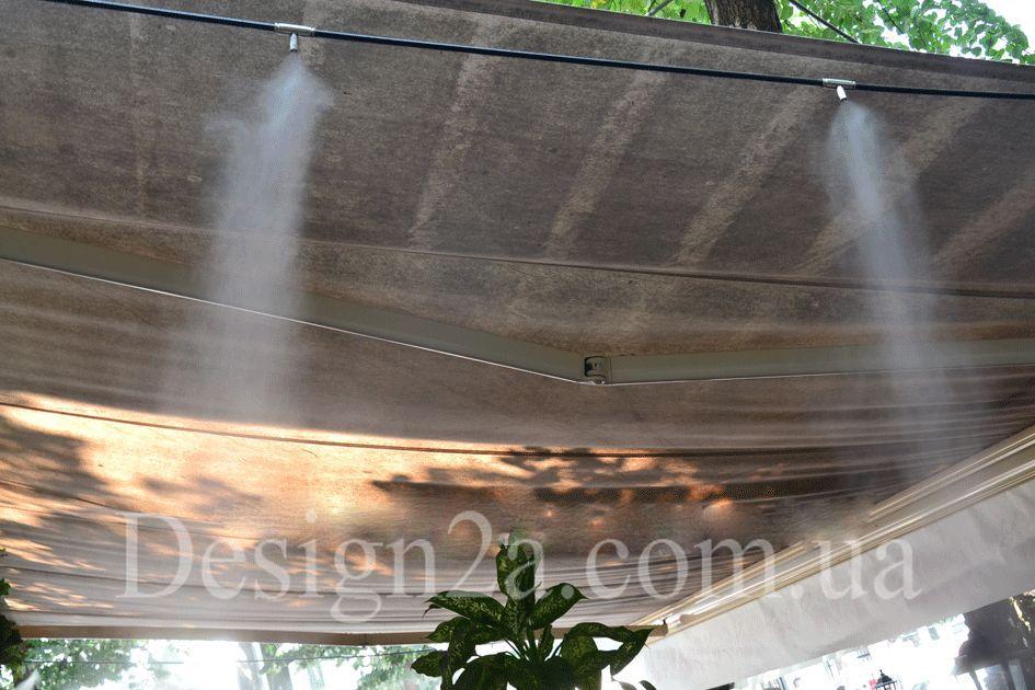 Охлаждение водяным туманом