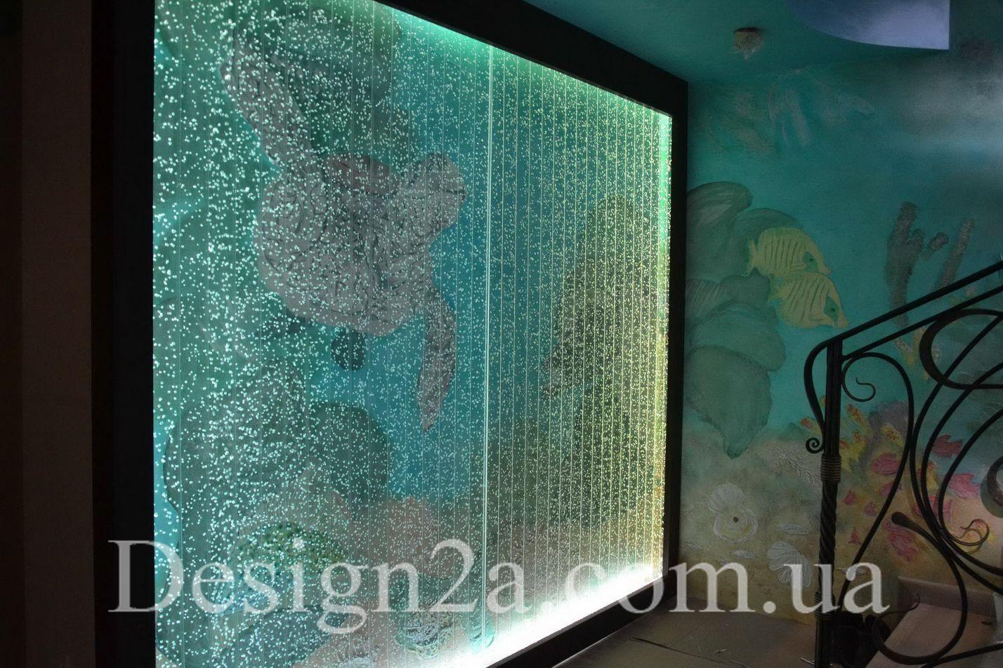 Пузырьковая панель в интерьере