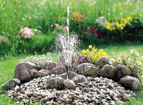 Водные элементы в саду в Одессе