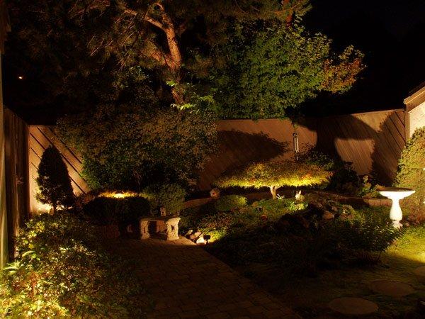 Освещение для сада в Одессе