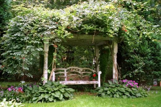 Ландшафтный дизайн садовых участков в Одессе
