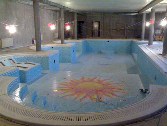Бассейны в помещениях в Одессе