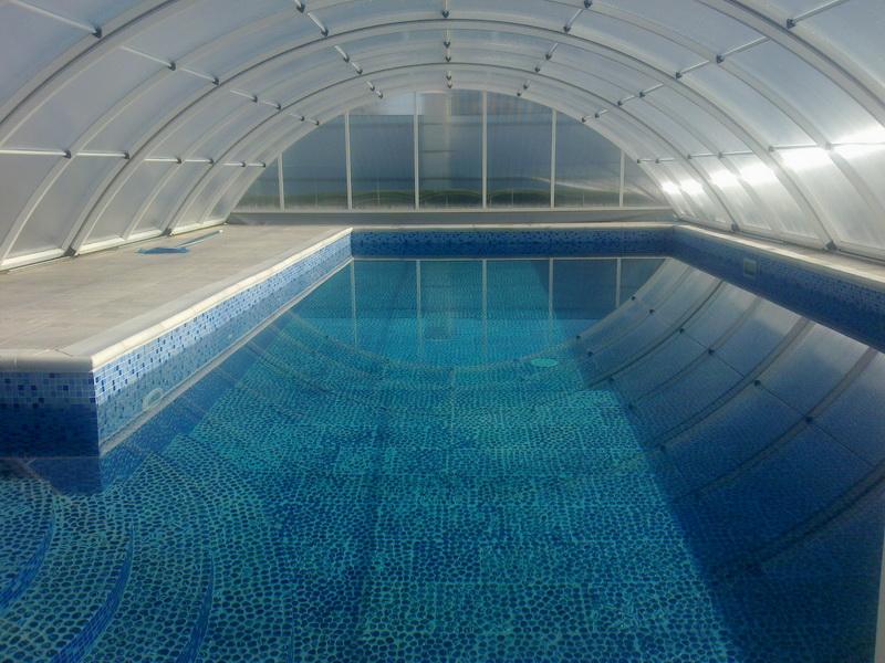 Установка бассейнов в частных домах в Одессе