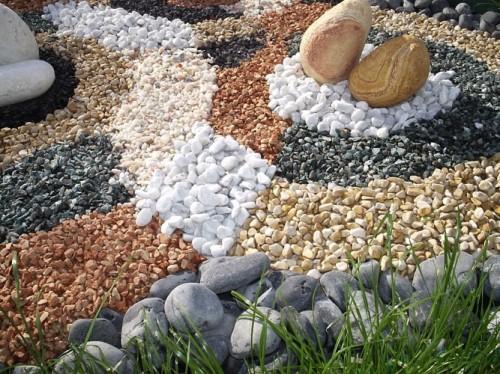 Декоративные камни для сада в Одессе