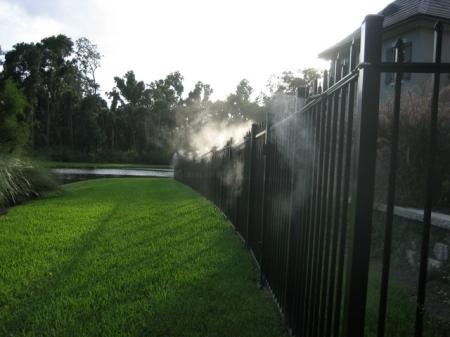 Системы туманообразования для борьбы с насекомыми