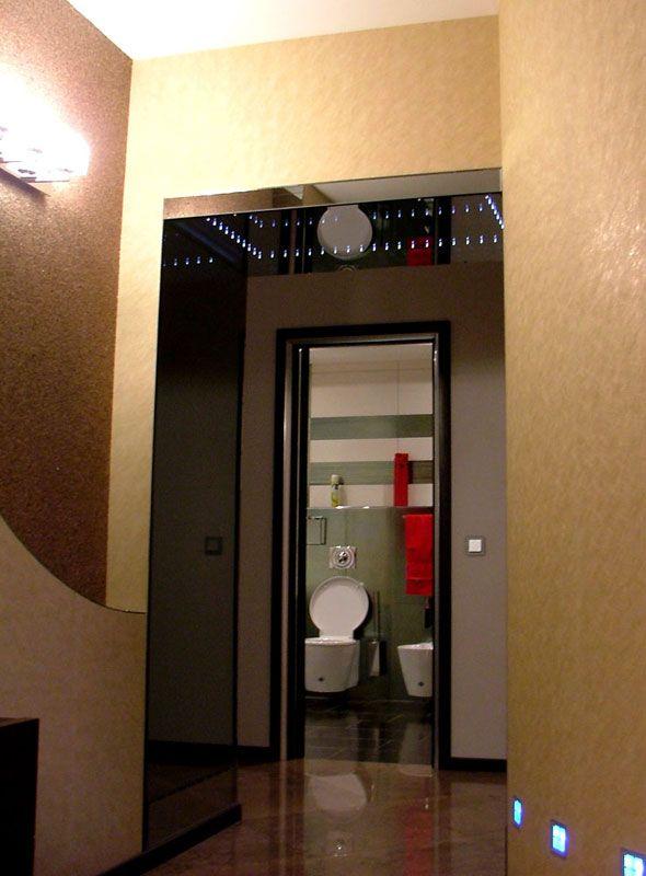 Зеркальная арка со светодиодным освещением