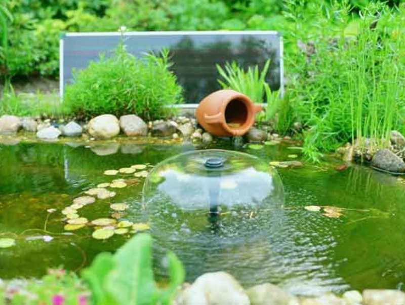 Создание декоративных фонтанов для сада в Одессе