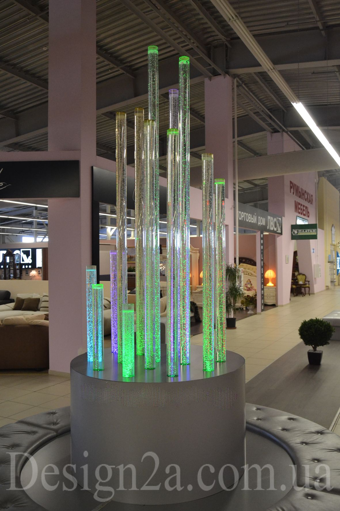 Пузырьковая колоннада