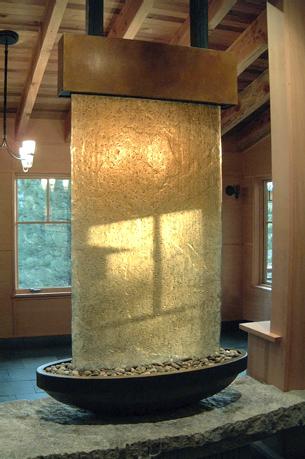 Декоративные фонтаны и водопады для дома в Одессе