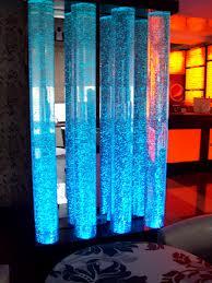 Пузырьковые колонны в дизайне интерьера