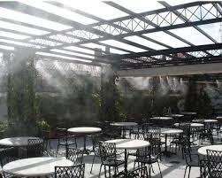 Системы туманообразования для кафе в Одессе