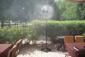 Установка систем туманного охлаждения