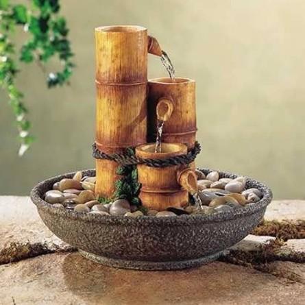 Домашние декоративные фонтаны