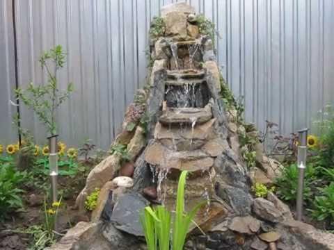 Интерьерные фонтаны и водопады