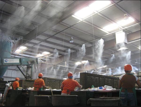 Системы туманообразования в промышленности