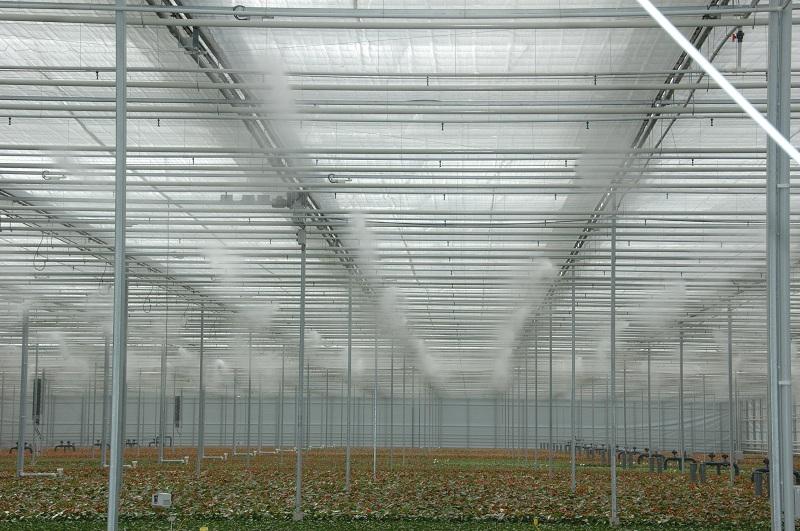Системы туманообразования для тепличных хозяйств