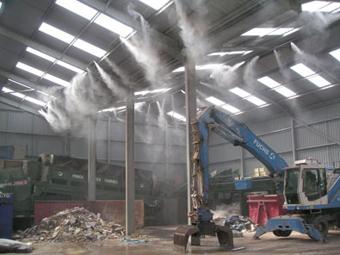 Системы туманообразования для промышленных объектов