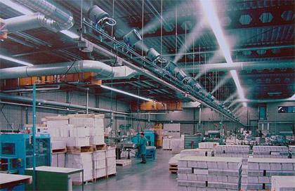 Система туманообразования в промышленности