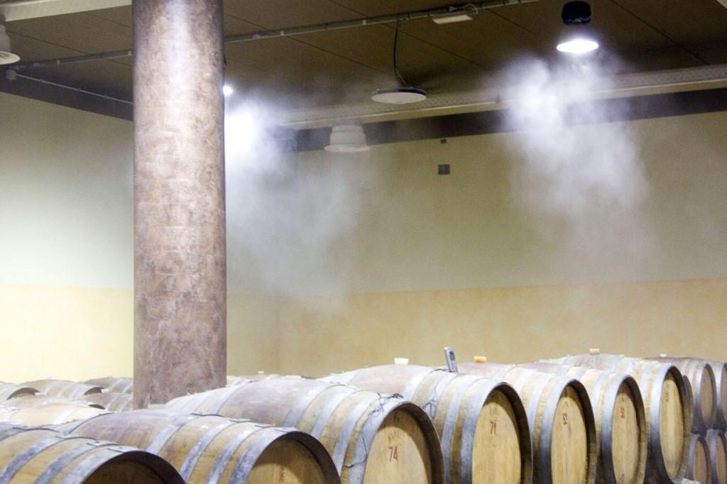 Система туманообразования в виноделии
