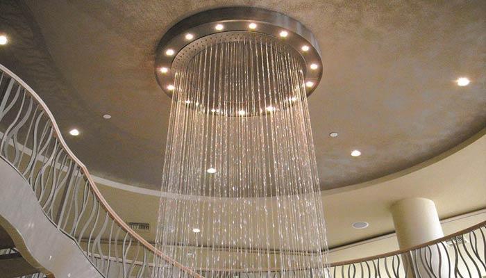 Водопад по струнам на заказ