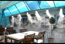 Система туманообразования для кафе и ресторанов