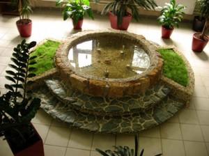 Декоративные фонтаны, водопады, пузырьковые панели в Одессе