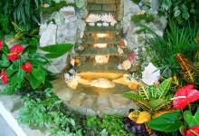 Декоративный комнатный водопад