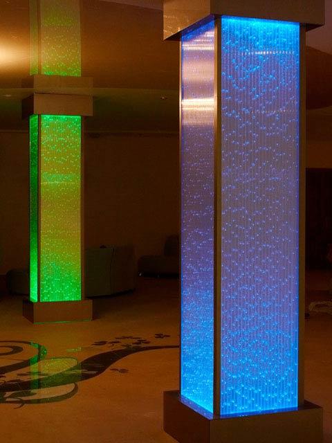 Пузырьковые панели в интерьере помещений в Одессе