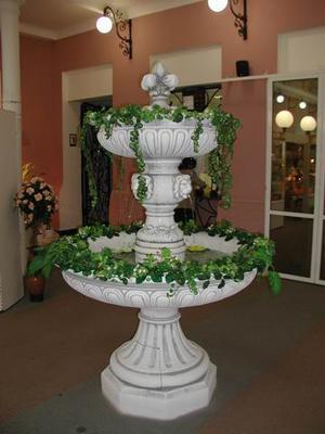 Установка декоративных фонтанов в помещениях в Одессе