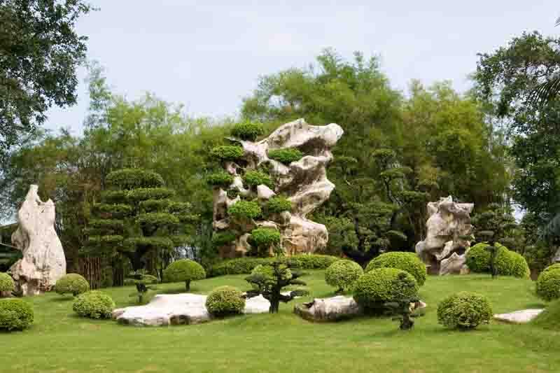 Апеннинский стиль ландшафтного дизайна сада в Одессе