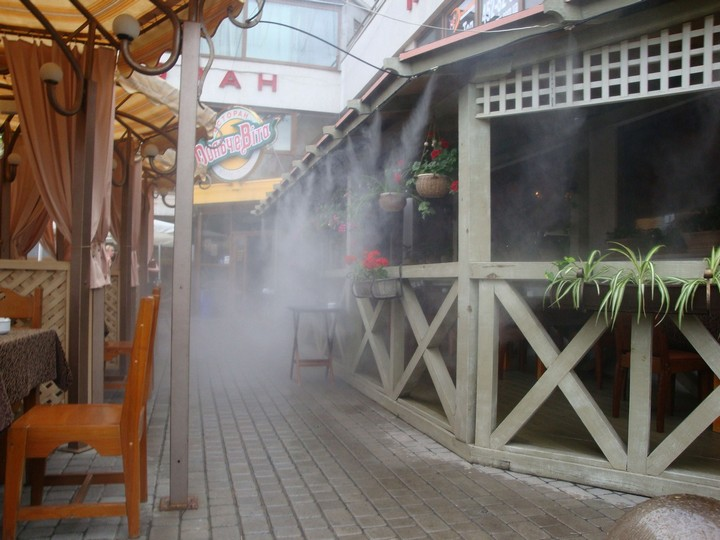 Системы туманообразования для кафе и ресторанов в Одессе