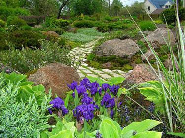 Создание альпинариев и рокариев на садовых участках в Одессе