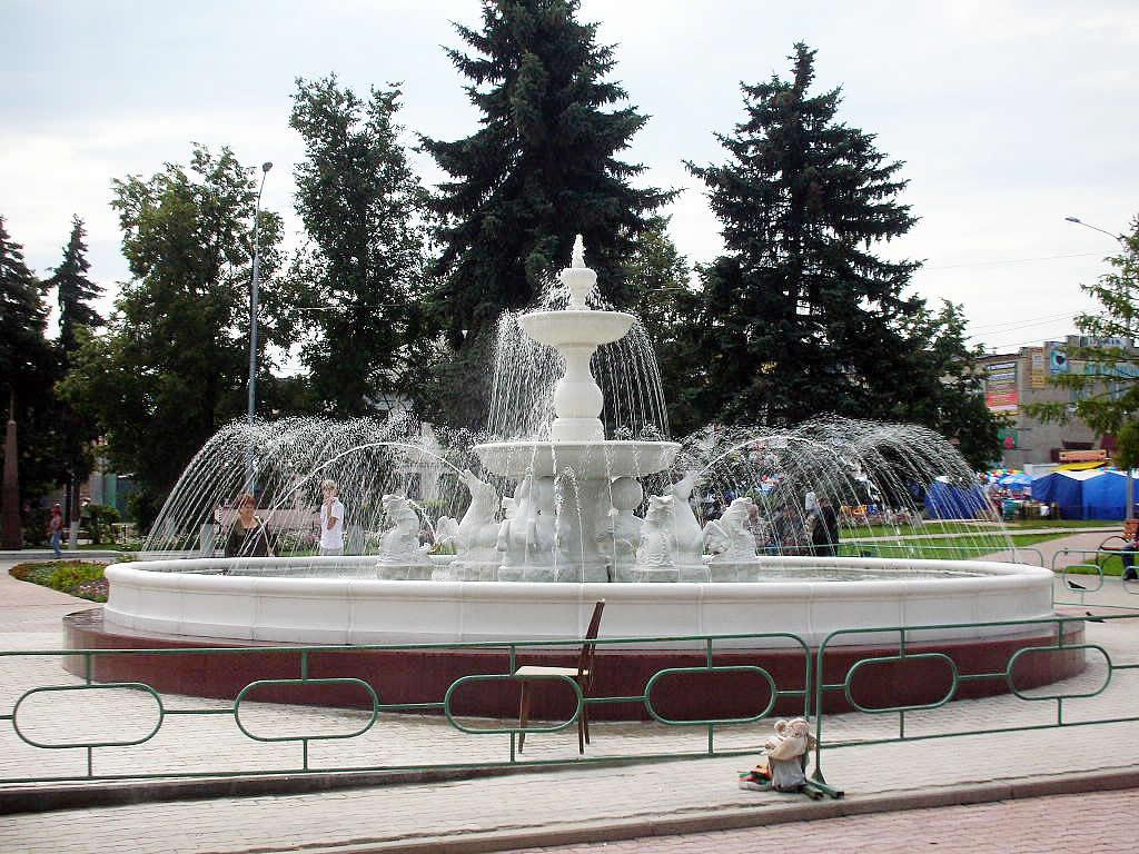 Уличные фонтаны в Одессе
