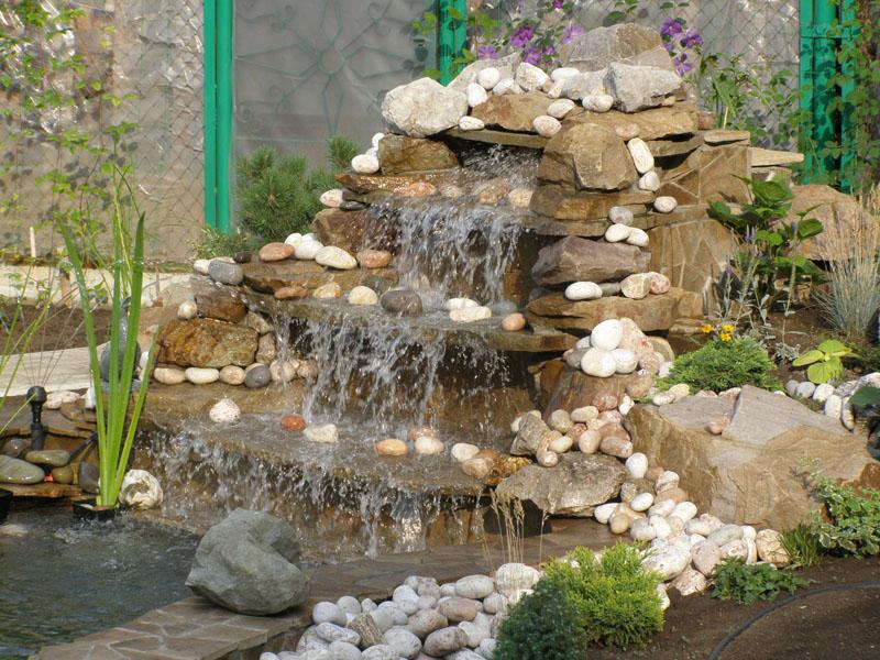 Декоративные комнатные водопады и фонтаны в Одессе