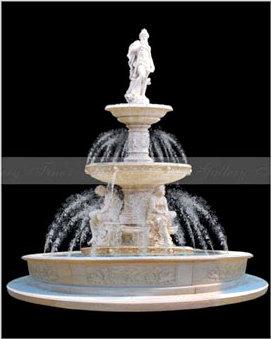 Декоративные фонтаны в дизайне интерьера