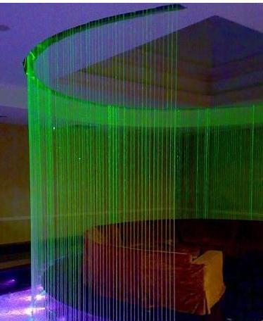 Декоративные водопады в дизайне интерьера