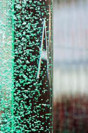 Пузырьковые колонны в интерьерном дизайне