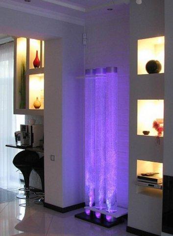 Воздушно-пузырьковые панели в интерьерном дизайне