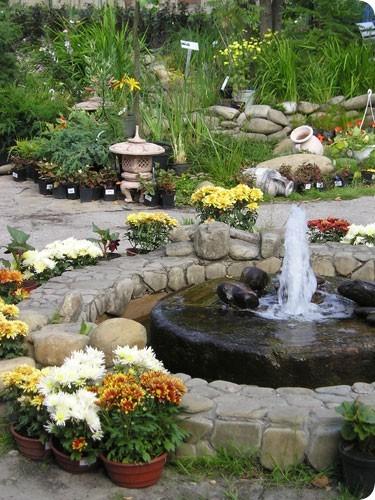 Декоративные фонтаны для сада в Одессе