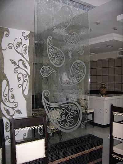Водная стена, панель на заказ в Одессе