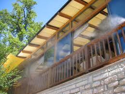 Преимущества систем охлаждения туманом