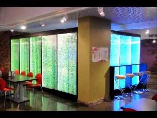Воздушно-пузырьковые панели в дизайне интерьера