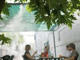 Охлаждение открытых площадок в Одессе