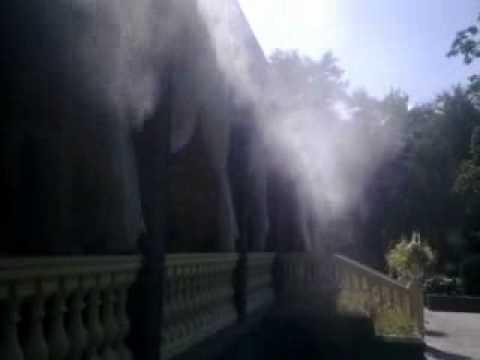 Туманообразование - охлаждение площадок