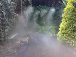Системы туманообразования в ландшафтном дизайне