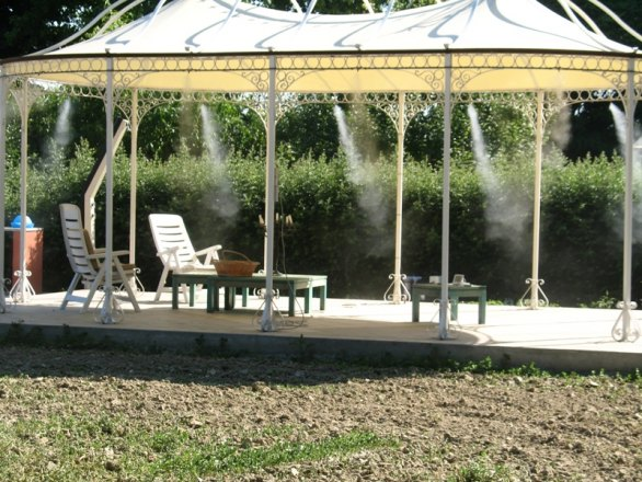 Системы охлаждения открытых пространств