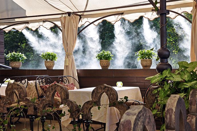 Принцип работы системы туманообразования