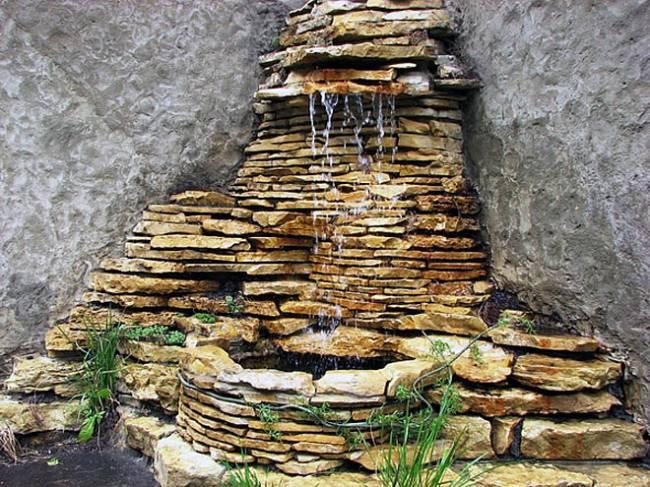 Декоративные фонтаны и водопады на заказ в Одессе